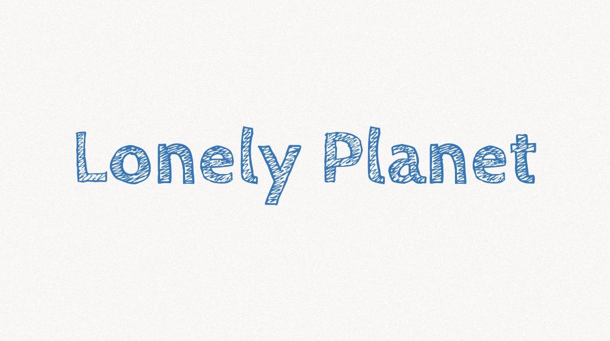 Lonely Planet @ Kirsten K Kester | MitLivsRejser.com