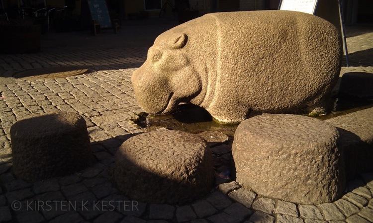 Flodhestungen Frederikke @ Kirsten K Kester | MitLivsRejser.com