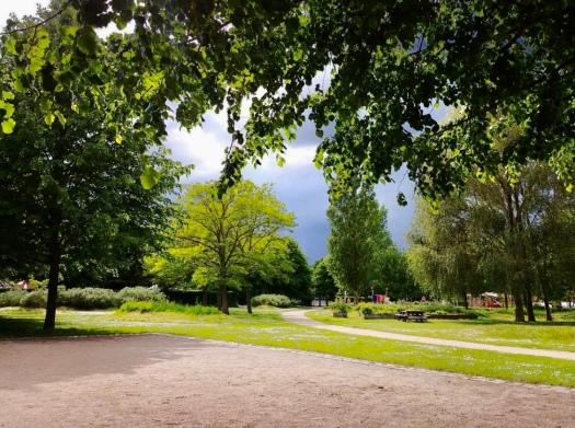 Parken i nabolaget @ Kirsten K Kester   MitLivsRejser.com
